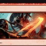 赤と黒のレア分割呪文「木端/微塵」が公開!2マナでクリーチャーに4点ダメージ!余波効果では黒黒Xを支払ってプレイヤーにX点ライフロス!