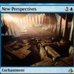 青レアのエンチャント「New Perspectives」が公開!CIPで3ドロー&手札が7枚以上ならサイクリングコストが不要に!※日本語名は「新たな視点」!