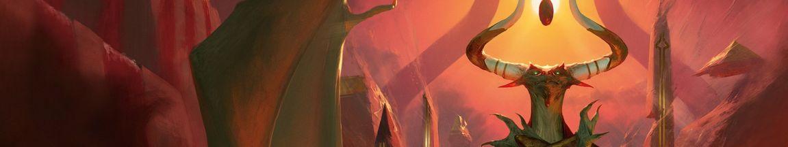 MTG「破滅の刻」の公式製品ページが更新!ボーラス様の美麗イラストが公開!