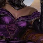 アモンケット「死の権威、リリアナ」のイラストがMTG公式壁紙のラインナップに追加!