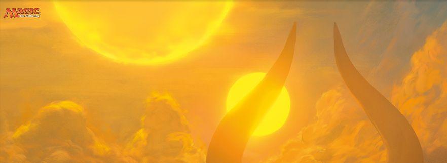 アモンケット「副陽の接近」がMTG公式壁紙のラインナップに追加!デッキ「ゼウスサイクル」などでも話題の特殊勝利カード!
