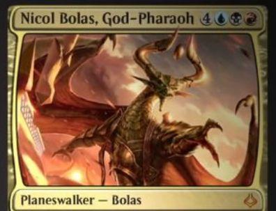 破滅の刻「Nicol Bolass, God-Pharaoh」が判明!グリクシスカラー7マナで4つの能力を有する新ボーラス!
