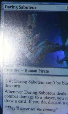 Daring Saboteur(イクサラン)