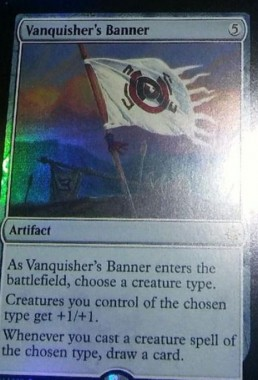 Vanquisher's Banner(イクサラン)