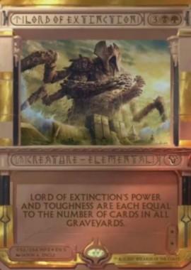 絶滅の王(Lord of Extinction)破滅の刻マスターピース