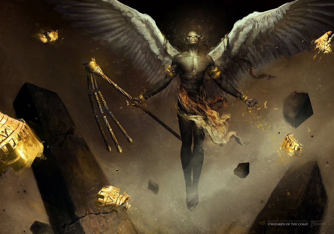 荒廃の天使(Desolation Angel)のフルアートイラスト