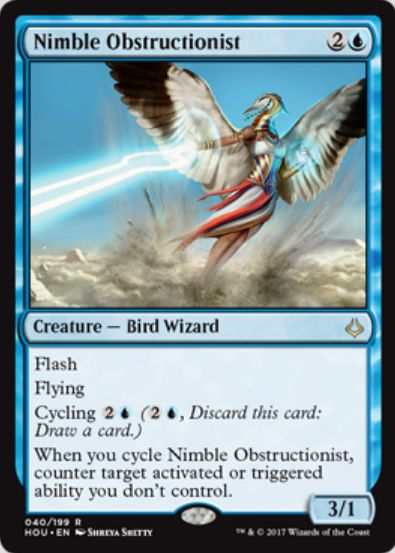 Nimble Obstructionist(破滅の刻)