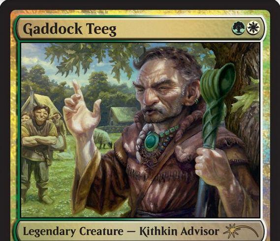 ローウィン「ガドック・ティーグ」のジャッジプロモ版カードが公開!