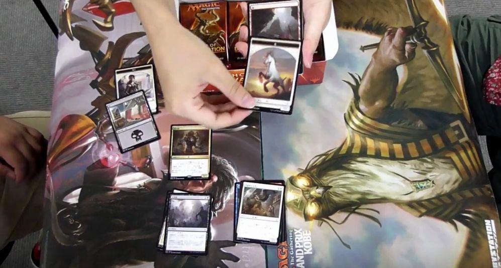 MTG「破滅の刻」のBOX開封動画を発見!カードショップ「黄鶏屋」様によるボックス開封!