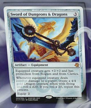 Sword of Dungeons & Dragons(MTG HASCONプロモ)