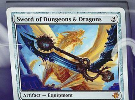 HASCONプロモ「Sword of Dungeons & Dragons」が公開!Hasbro「ダンジョンズ&ドラゴンズ」とコラボした銀枠神話アーティファクト!