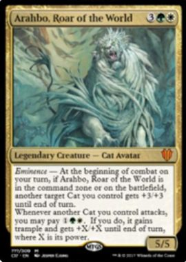 Arahbo, Roar of the World(統率者2017)