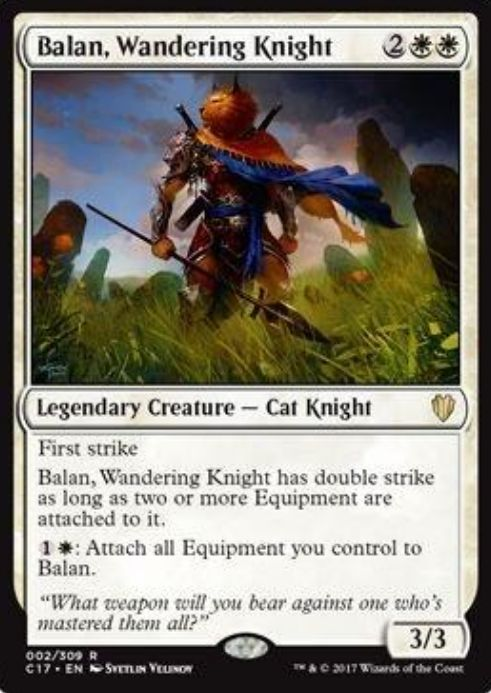 Balan, Wandering Knight(統率者2017)