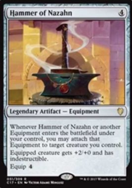 Hammer of Nazahn(統率者2017)