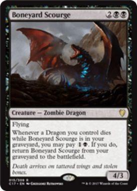 Boneyard Scourge(統率者2017)