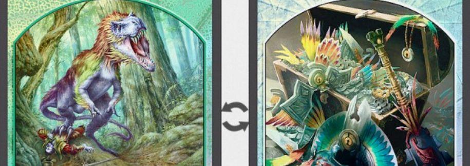 MTG「イクサラン」よりFNM景品となる「両面トークン」3種が画像公開!