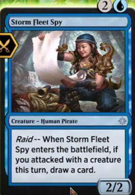 Storm Fleet Spy(イクサラン)