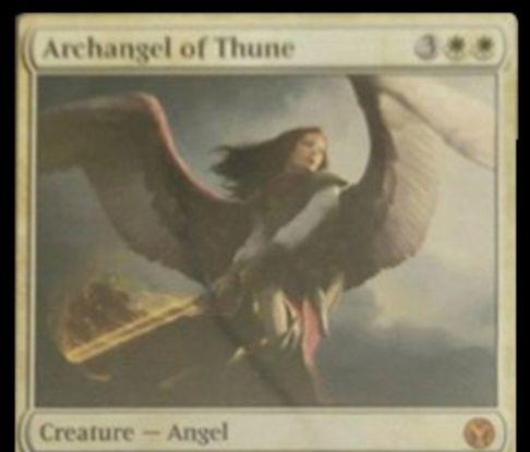 基本セット2014「テューンの大天使」がアイコニックマスターズの神話レア枠で再録!