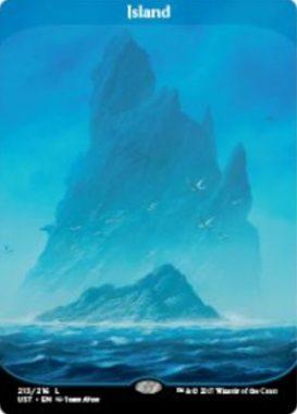 島(アンステイブル収録フルアート土地)公式版