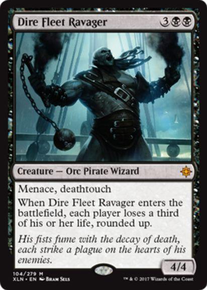 Dire Fleet Ravager(イクサラン)