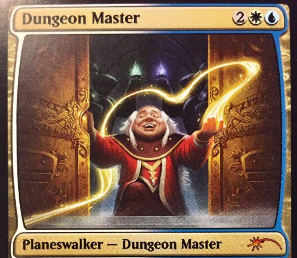 青白のPW「Dungeon Master」が公開!WotC従業員配布プロモ「Heroes of the Realm」の1枚!