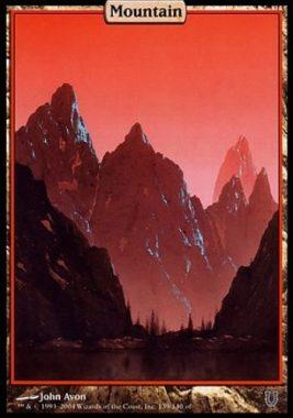 山(アンヒンジド)