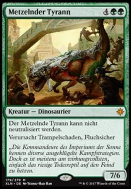 Metzelnder Tyrann ドイツ語(独語):MTG他言語カード