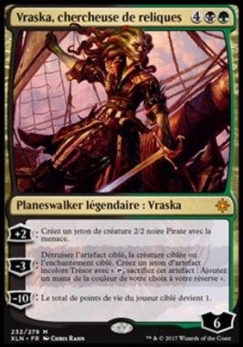Vraska, chercheuse de reliques フランス語(仏語):MTG他言語カード