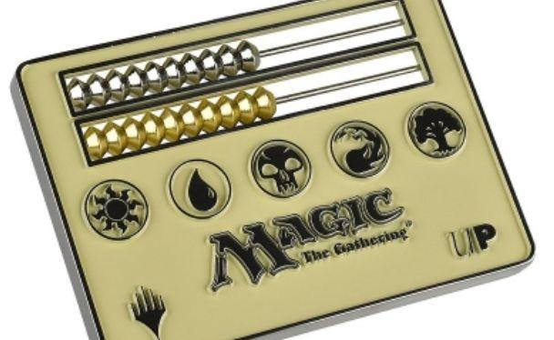 ウルトラプロよりMTGカードサイズの「そろばん型ライフカンター」が発売決定!デッキケースに収まる持ち運び便利なサイズ!(白)