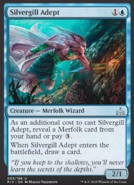 Silvergill Adept(イクサランの相克)