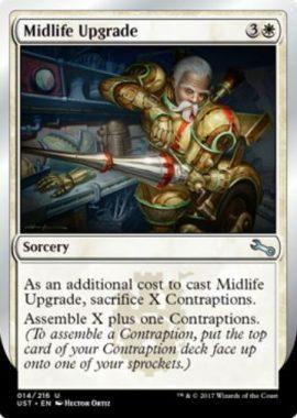 中年の改造/Midlife Upgrade(MTG「Unstable」収録)
