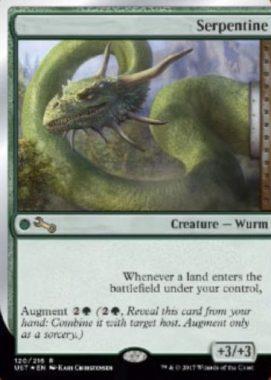 Serpentine(MTG「Unstable」収録の拡張カード)