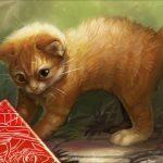 Unstable「ADORABLE | KITTEN」のフルアートイラスト(MTG 壁紙)