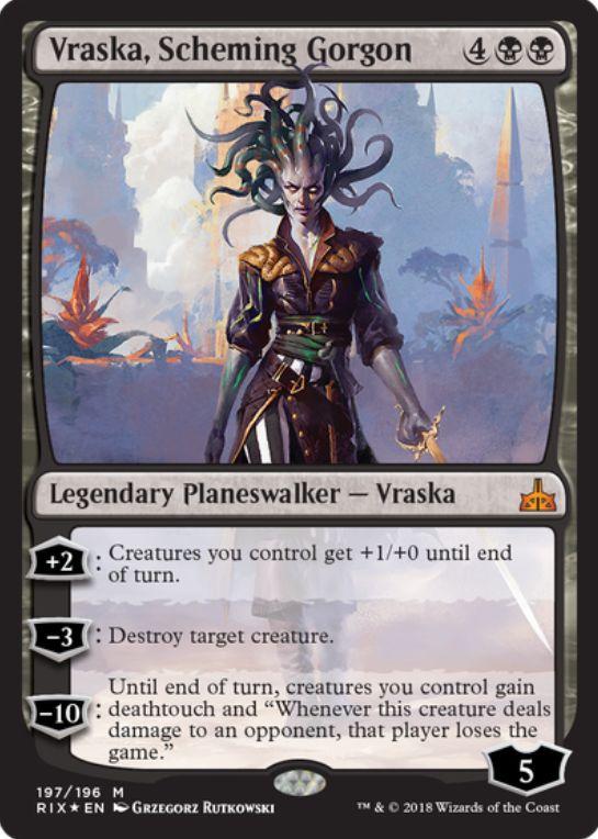 Vraska, Scheming Gorgon(イクサランの相克)