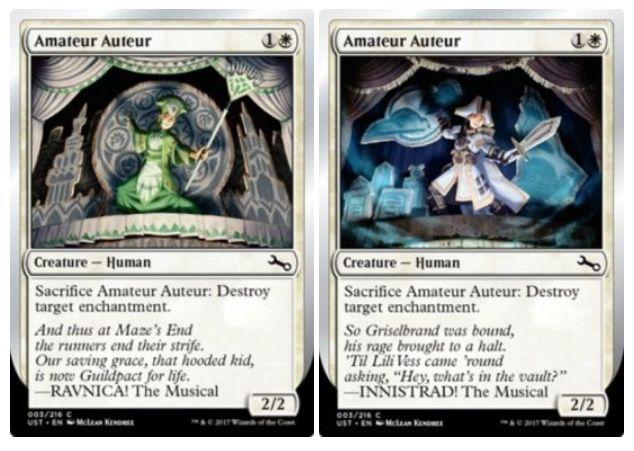 Unstable「変種カード(イラストやテキスト違いのパラレル版)」に関する公式情報が公開!