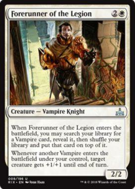 Forerunner of the Legion(サーチ先:吸血鬼)
