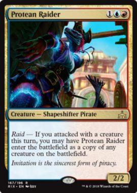 Protean Raider(イクサランの相克)