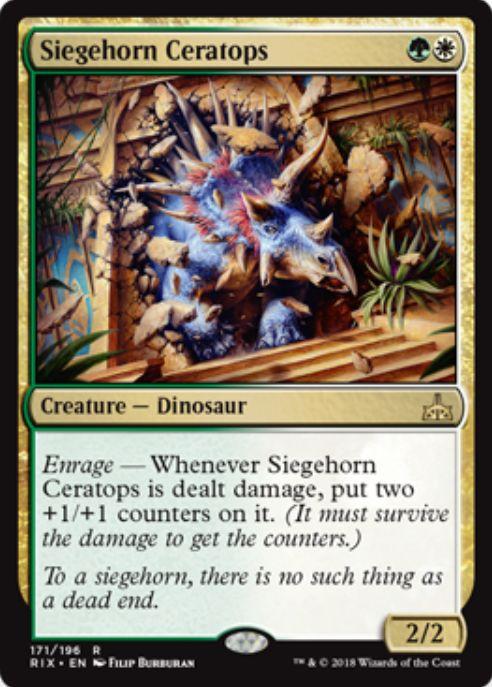 Siegehorn Ceratops(イクサランの相克)