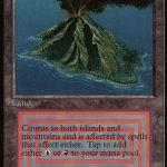 Volcanic Island(MTG カードパワー高すぎ 最強)