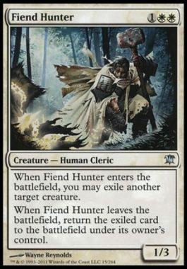悪鬼の狩人(Fiend Hunter)イニストラード