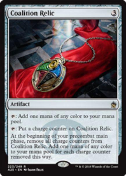 【マスターズ25】連合の秘宝(Coalition Relic)が未来予知より新規イラストで再録決定!