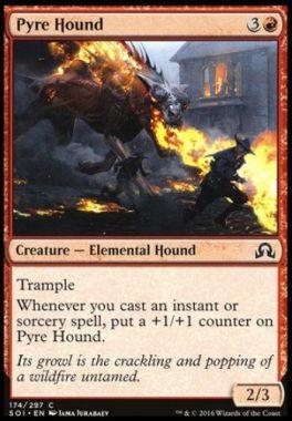 火の猟犬(Pyre Hound)イニストラードを覆う影