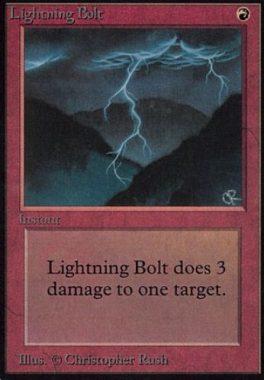 稲妻(Lightning Bolt)アルファ