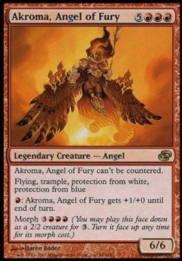 憤怒の天使アクローマ(Akroma, Angel of Fury)次元の混乱