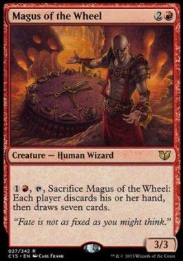 輪の大魔術師(Magus of the Wheel)統率者2015