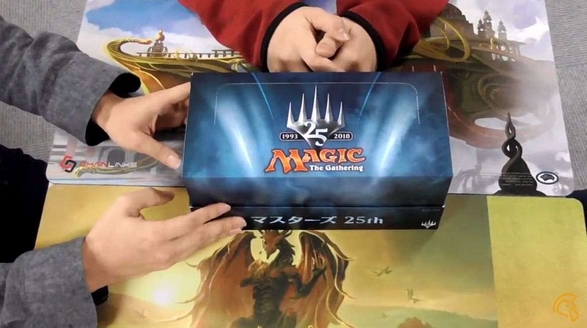 MTG「マスターズ25」のボックス開封動画が早くもYouTubeで公開!カードショップ「黄鶏屋」様による1BOX開封!