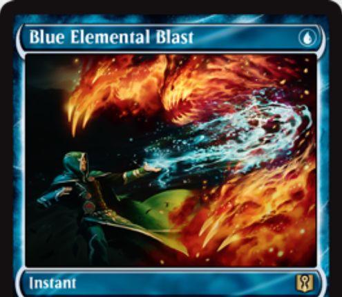 Blue Elemental Blast(青霊破)が「Signature Spellbook: Jace」に新規アートにて再録決定!