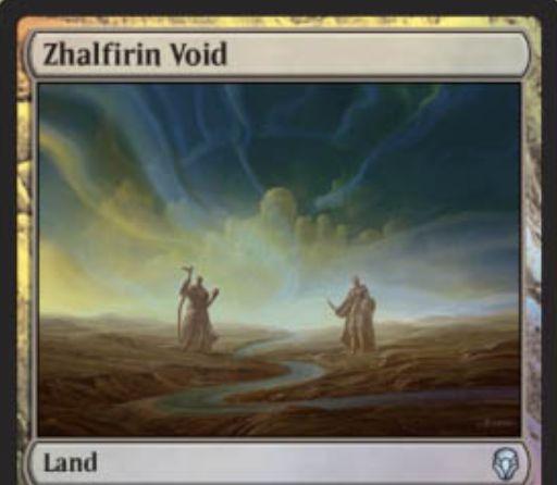 【ドミナリア】アンコモンの土地「Zhalfirin Void」が公開!CIPで「占術1」ができるアンタップインの無色土地!