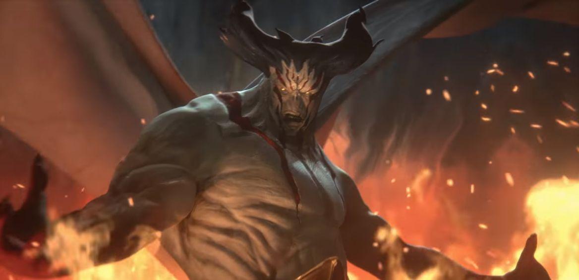 【ドミナリア】悪魔王ベルゼンロック(Demonlord Belzenlok)が情報公開!6マナ6/6「飛行」「トランプル」に加え、CIPで豪快なドロー能力が誘発する伝説のエルダー・デーモン!