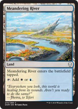 Meandering River(ドミナリア プレインズウォーカーデッキ テフェリー)